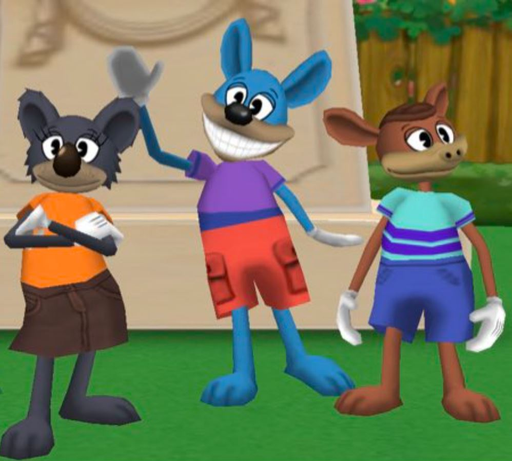 A group of toons!